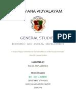 General Studies Class 12