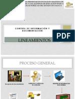 Lineamientos-Informacion y Documentacion