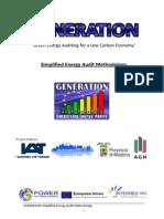 Simplified Energy Audit Methodology