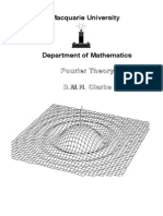 Fourier Theory - B. Clarke