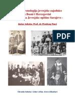 Kratka Kronologija Jevrejske Zajednice u Bosni i Hercegovini