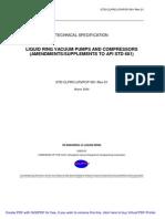 AMENDMENTS/SUPPLEMENTS TO API STD 681