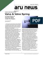 Valve & Valve Spring