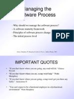 Humphrey Managing the Software Process (1)