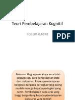 Teori Pembelajaran Kognitif Gagne