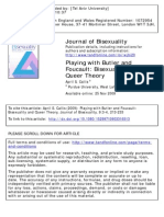 April S. Callis - Playing With Butler and Foucault-Bisexuality and Queer Theory