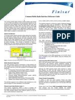 Finisar CPRI Reference Guide Mar2012 0