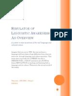 Simulated Language Awareness_ Phan Anh _ DIP12B05