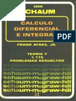 Ayres_Calculo Diferencial e Integral_Teoria y 1175 Problemas Resueltos (Mc-Graw-Hill)
