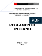 Reg. Int Solo