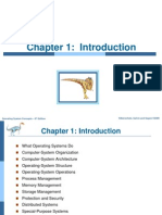 Operating System Concepts chapter 1