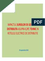 Impactul Surselor de Energie Distribuita Asupra Cpt Vf