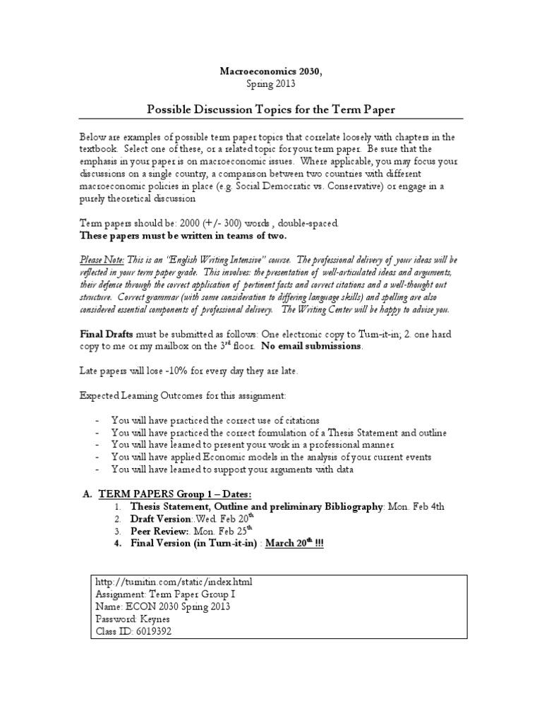 Research paper manuals