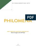 Philomena-screenplay (Steve Coogan&Jeff Pope)