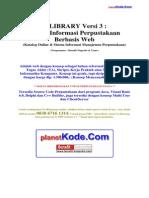 eLibrary v3- Analisis Sistem Informasi Perpustakaan Berbasis Web