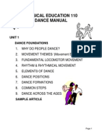 Dance Manual Unit 1 F06