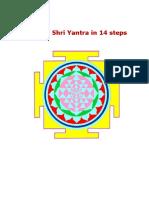 Making Shri Yantra in 14 Steps