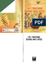 195527062 Carti 101 Proverbe Pentru Copii Isteti Proverbe Cu Raspunsuri de Colorat Ed Sedcom Libris TEKKEN