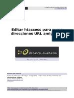 Editar htaccess para crear direcciones URL amigables Autor