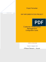 SAP CRM Configuration Guide