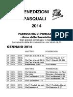 Benedizioni Pasquali 2014 (1)