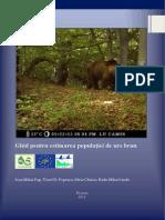 Ghid Pentru Estimarea Populatiei de Urs Brun