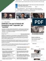 Gallardón cree que la historia del franquismo está _superada_ por _asumida_