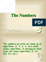 Numbers 0 9