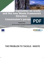 European Legislation on Waste