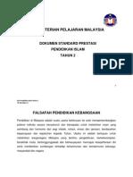 STANDARD PRESTASI PENDIDIKAN ISLAM TAHUN 2 LATEST