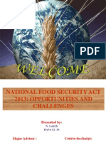national food security act 2013