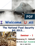 food security act in india