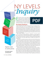 The Many Levels of Inquiry NSTA Article