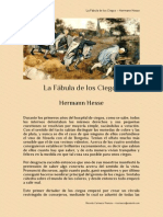 La Fábula de los Ciegos – Hermann Hesse