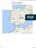 Ruta_de Elche (Alicante) a Torres Vedras