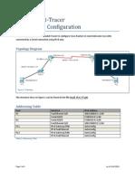 Small IPv6 PT Lab