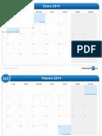 Calendario Del Mes-2014