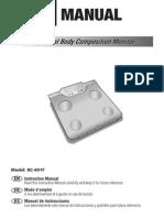 Tanita Bc-601 (Manual)