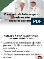 Cuidados Diabetes Gestacional