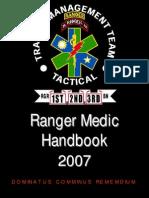 Ranger Medic Handbook 2007