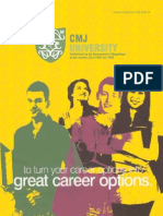 CMJ University Prospectus NEW
