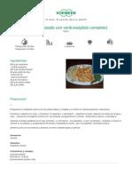 Recetario Thermomix® - Vorwerk España - Calamar guisado con verduras(plato completo)  - 2011-09-28