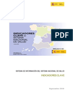 Informe Indicadores Clave Del Sns