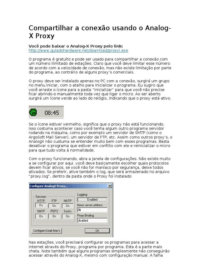 analog proxy