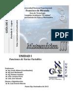 Guía de Ejercicios I Corte II2013