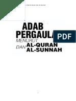 Pergaulan Menurut Sunnah n Al Quran