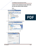 Membuat Form Input Data Dengan Vb Net 2005