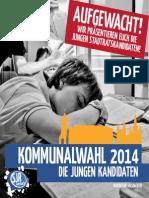 Broschüre zur Ansbacher Kommunalwahl 2014
