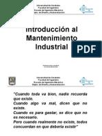 1-Introducción al Mantenimiento Industrial