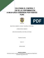 Protocolo Fuentes Fijas Version 1 Ene2009